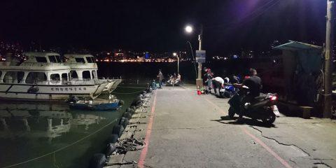 台北八里渡船頭